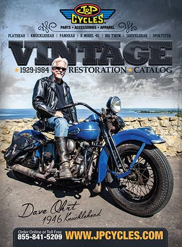 Free Catalog of Parts for your Vintage Harley-Davidson