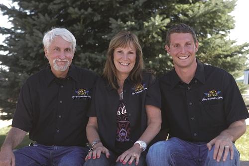 John, Jill and Zach Parham