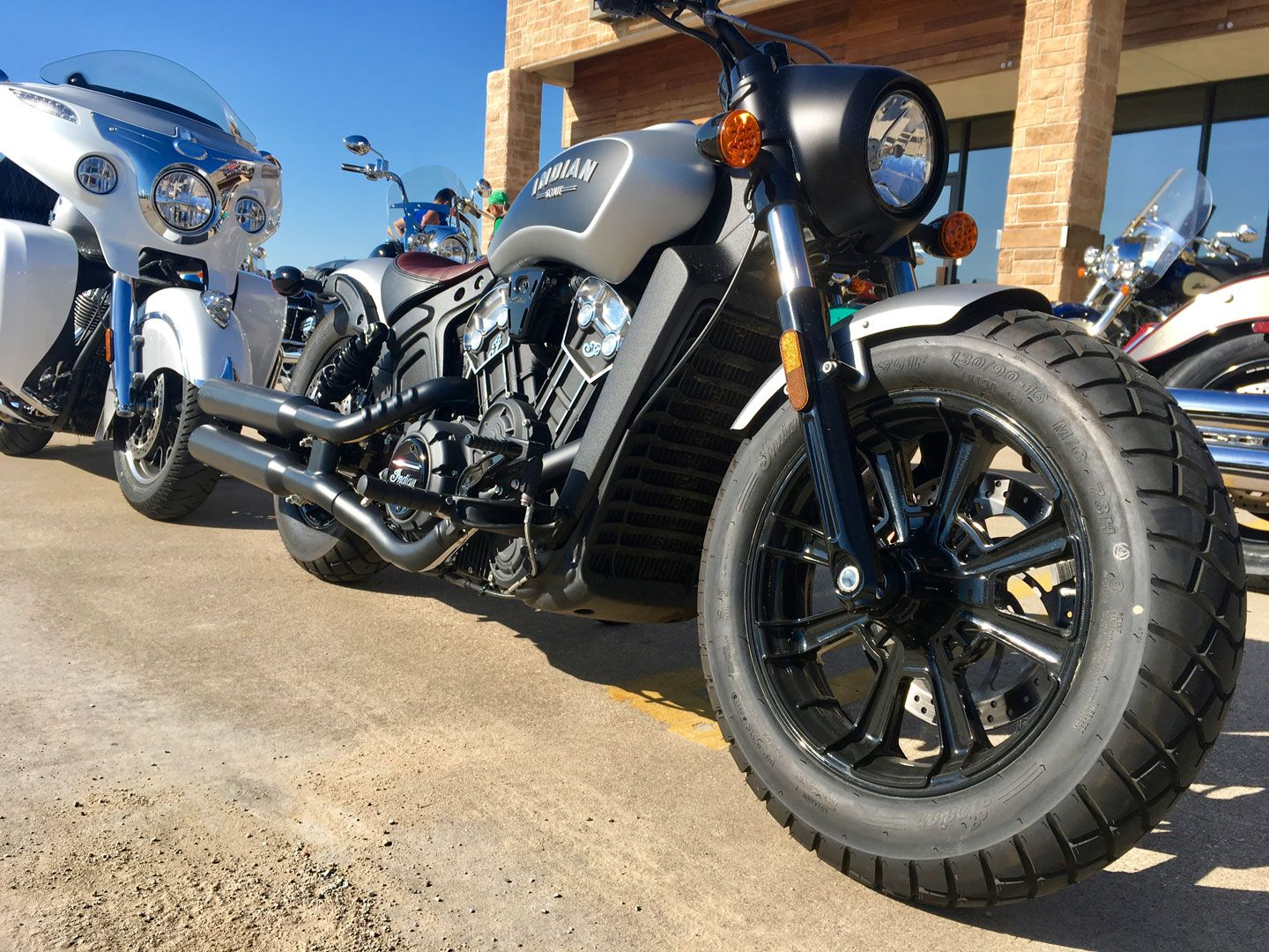 2018 Indian Scout and Bobber Review on Countersteer
