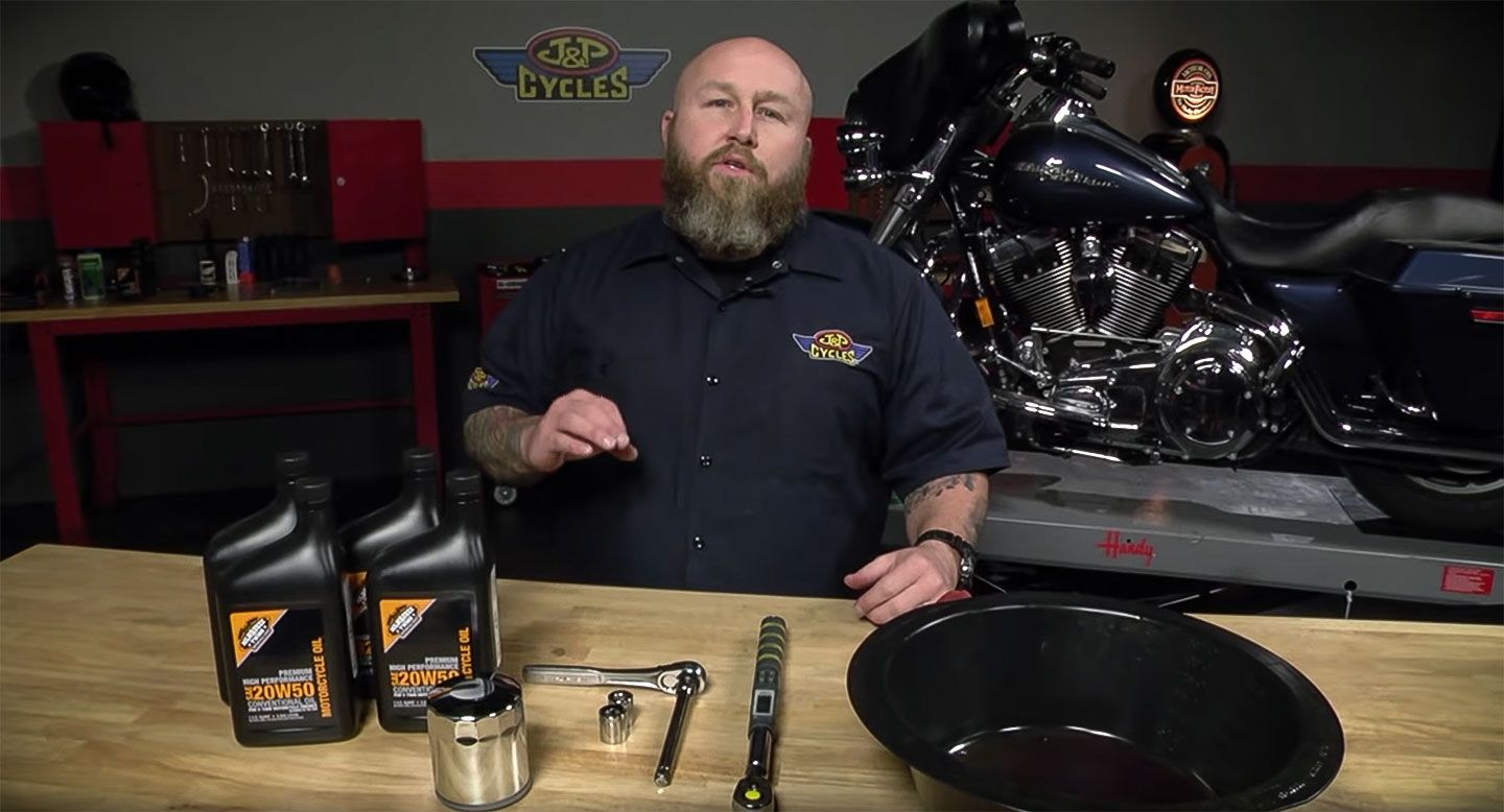 How to Change your Motorcycle Engine Oil