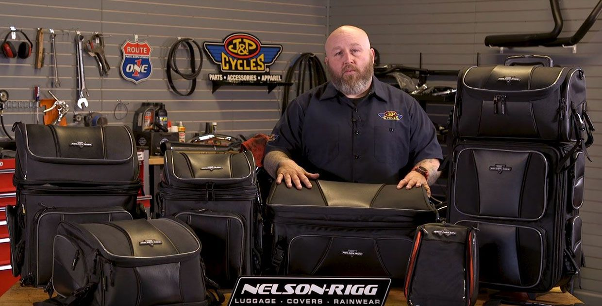 Nelson-Rigg Route 1 Luggage: Storage Solutions for all Shapes and Sizes
