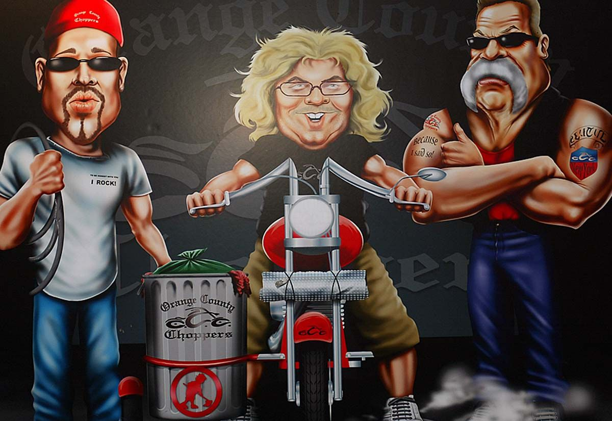 Orange County Choppers Circus Comes Full Circle