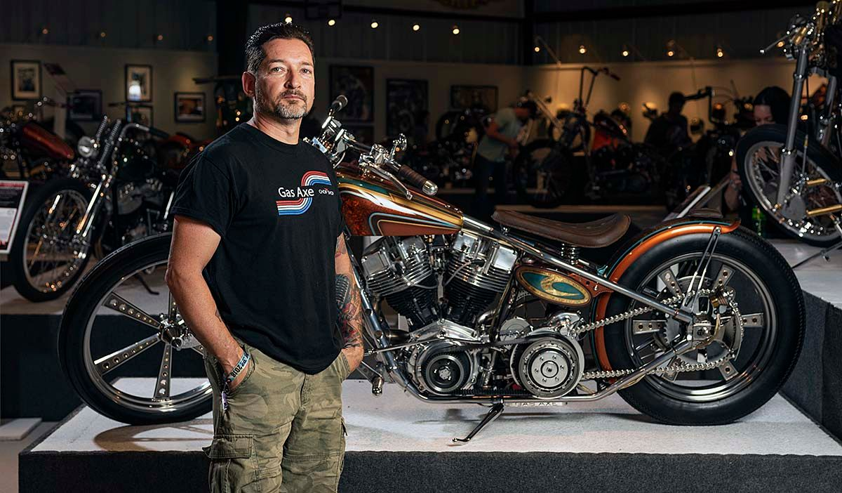 Tim Dixon's Game Changer Earns 2019 J&P Cycles Ultimate Builder Crown