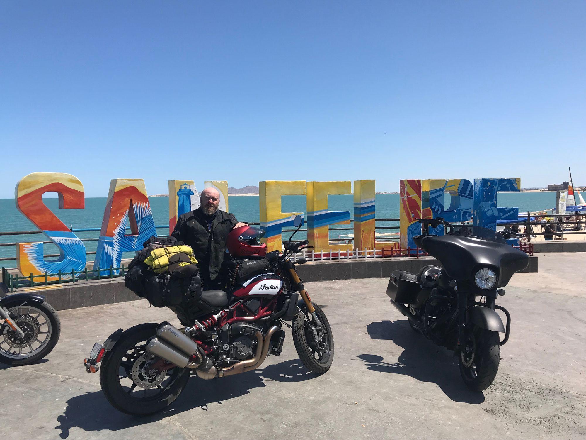 Touring on the Indian FTR 1200 - 3,000 Miles to El Diablo