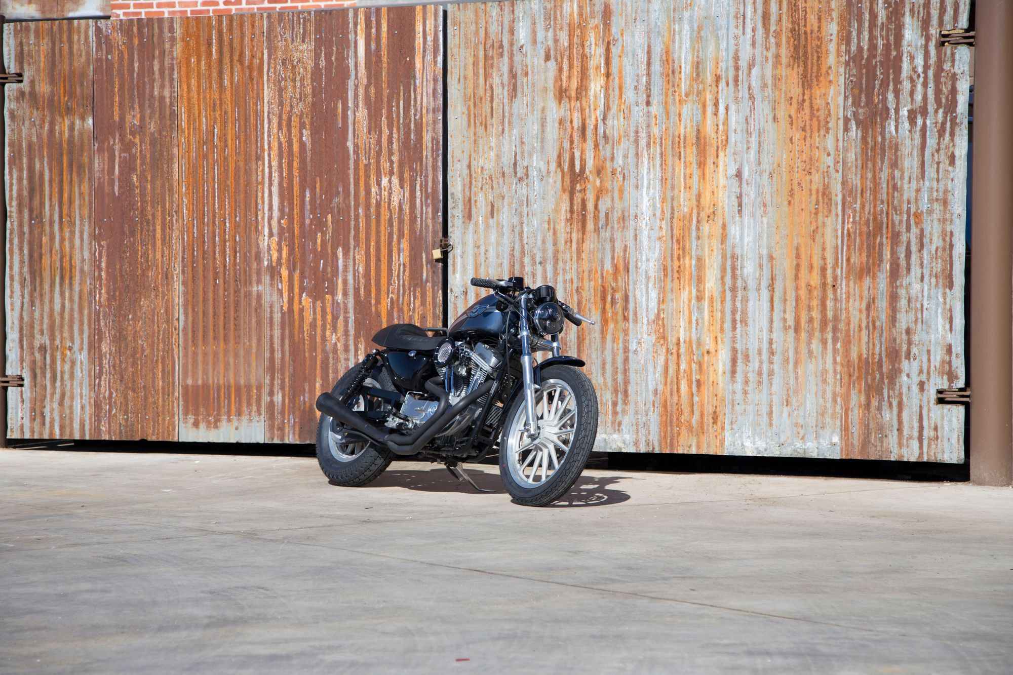How to Turn a Harley-Davidson Sportster Into a Cafe Racer on