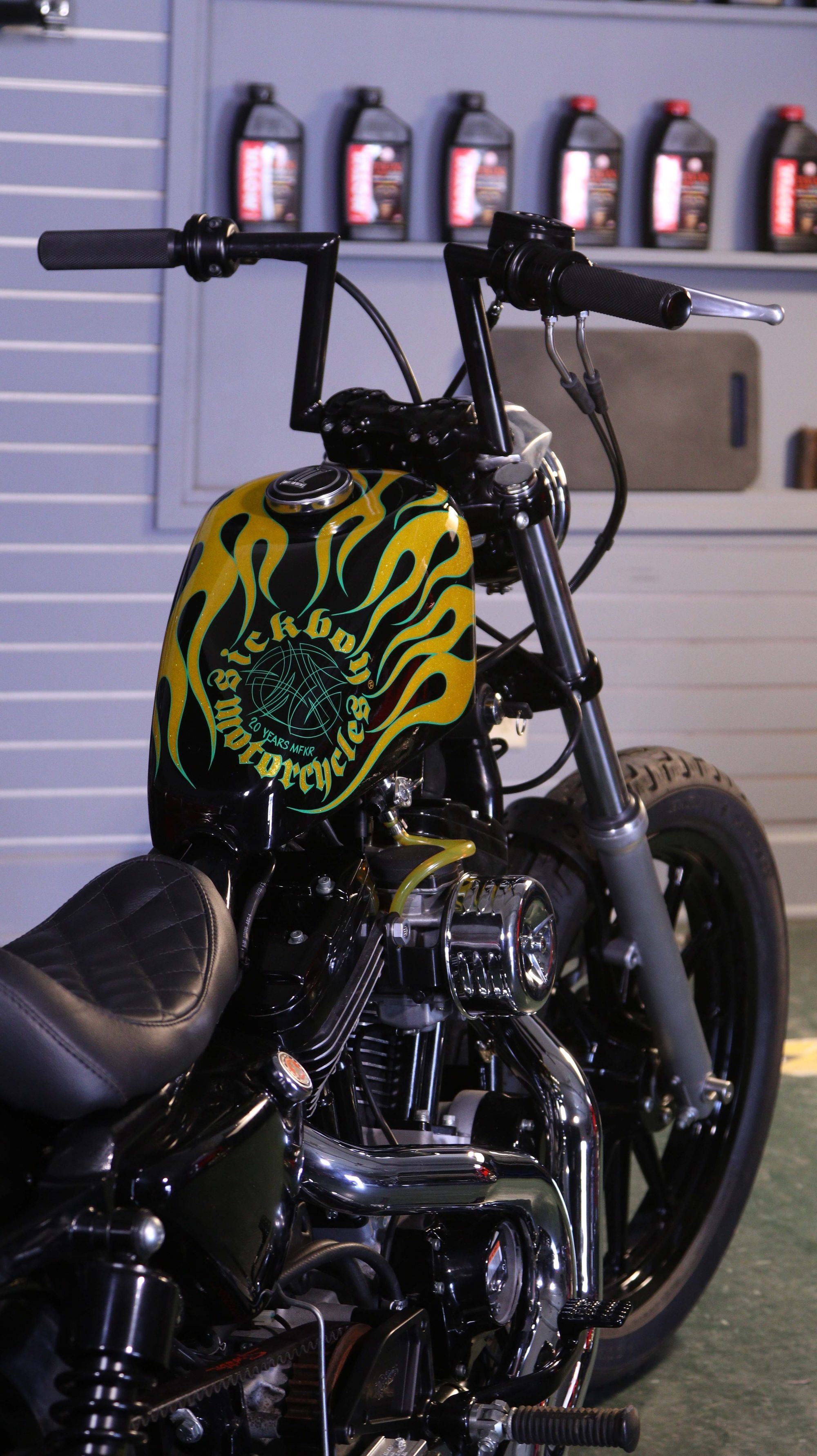 Sick Boy Sportster Build (That Could be Yours!)