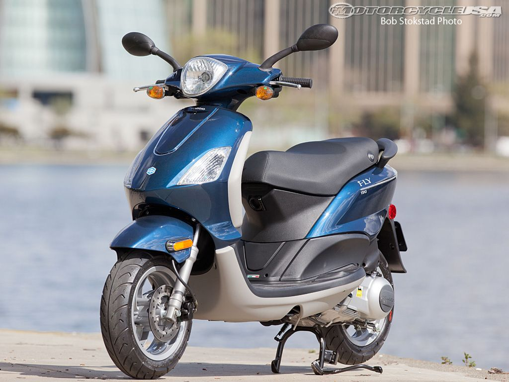 2012 Piaggio Fly 150 Scooter Review