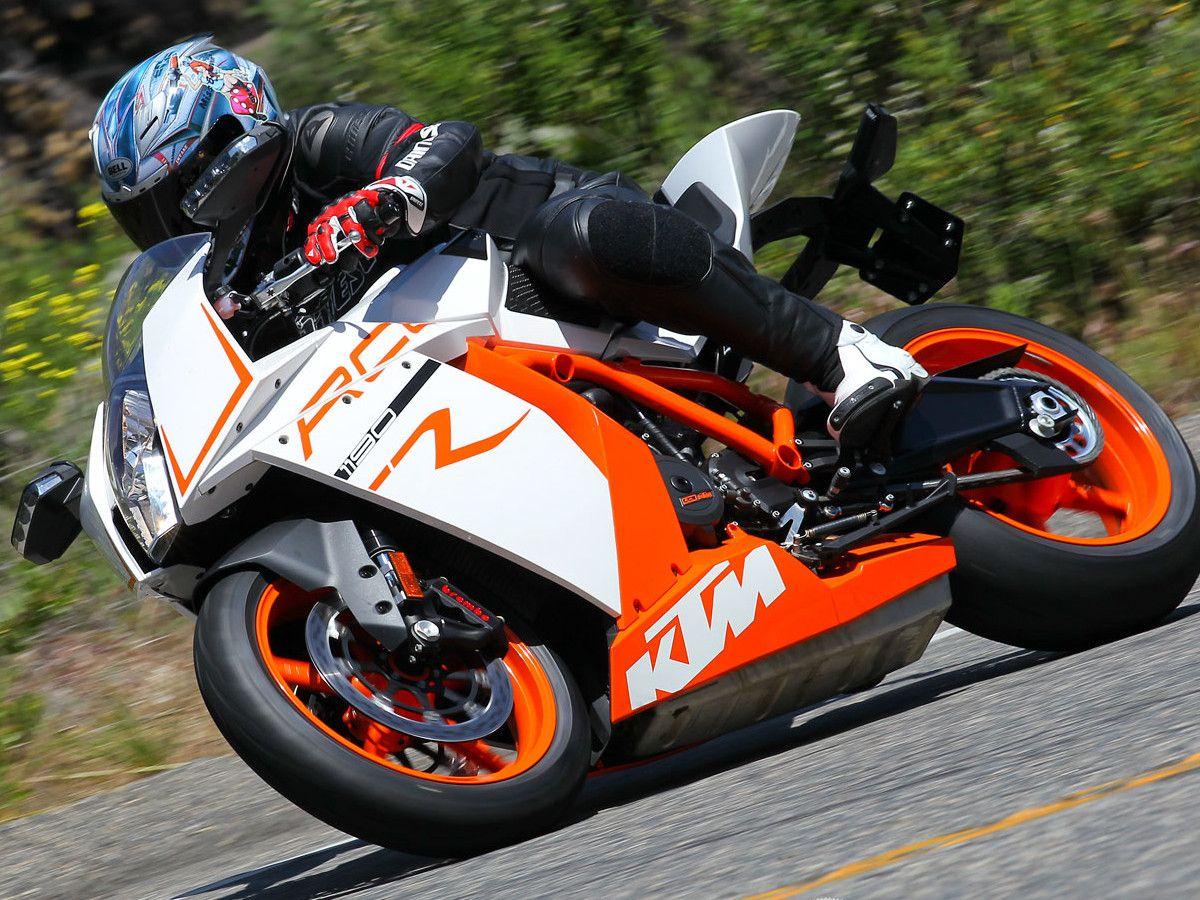 2012 KTM RC8R Street Comparison