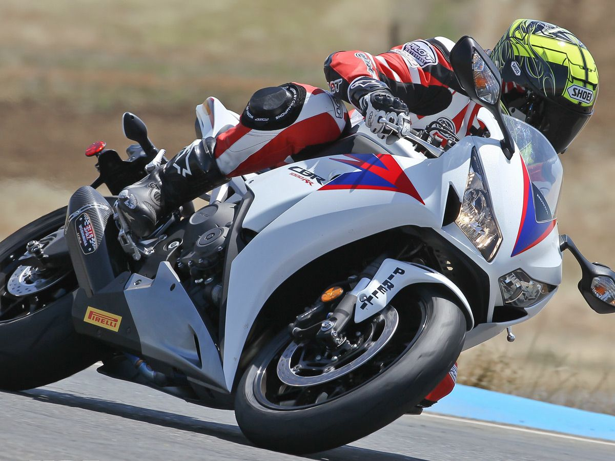 2012 Honda CBR1000RR Street Comparison