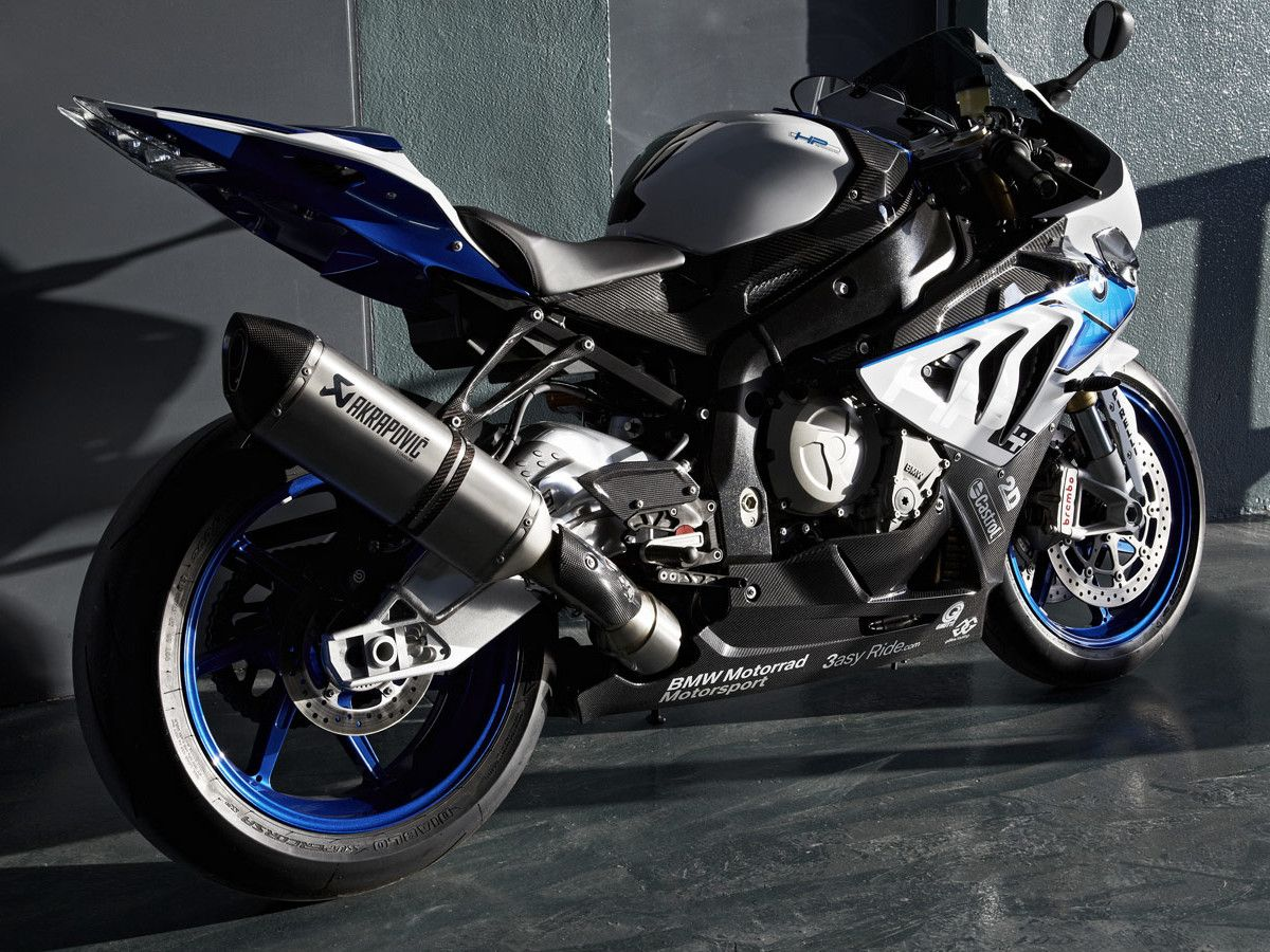 2013 BMW S1000RR HP4 First Ride