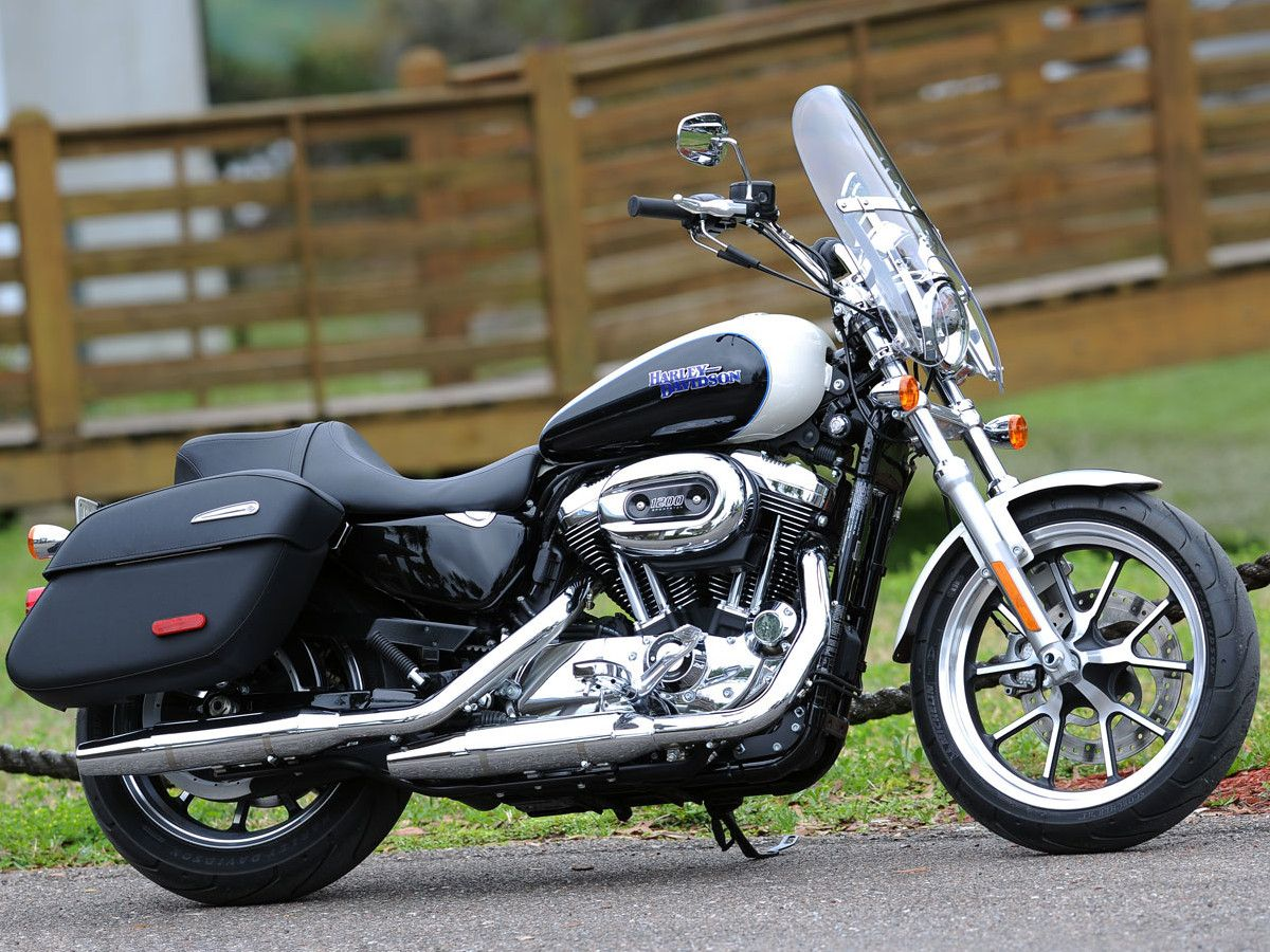 2014 Harley SuperLow 1200T First Ride
