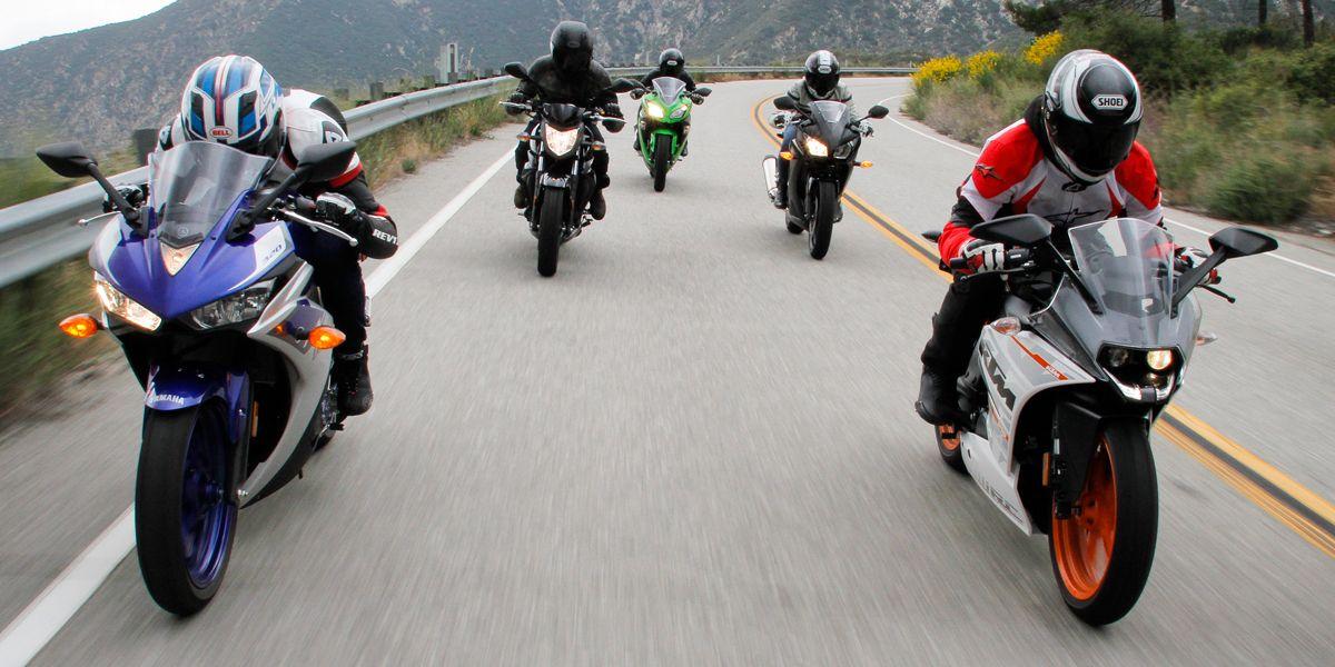 2015 Entry-Level Sportbike Shootout