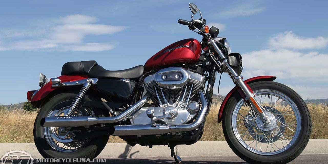 2005    Harley       Sportster    XL883C Review on Countersteer