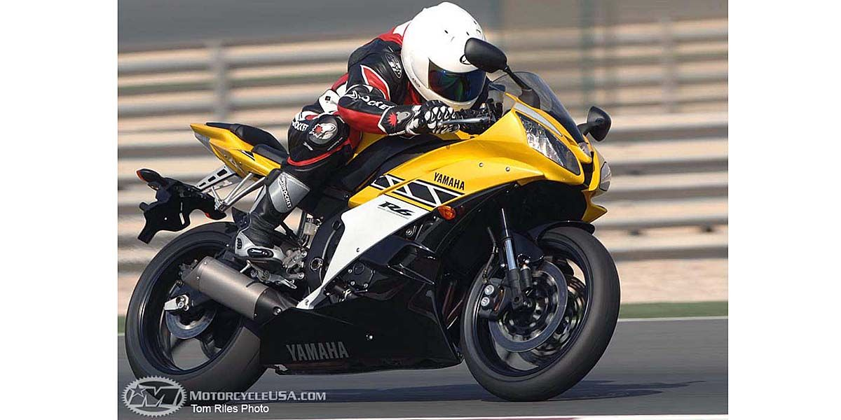 2006 Yamaha R6 Second Ride