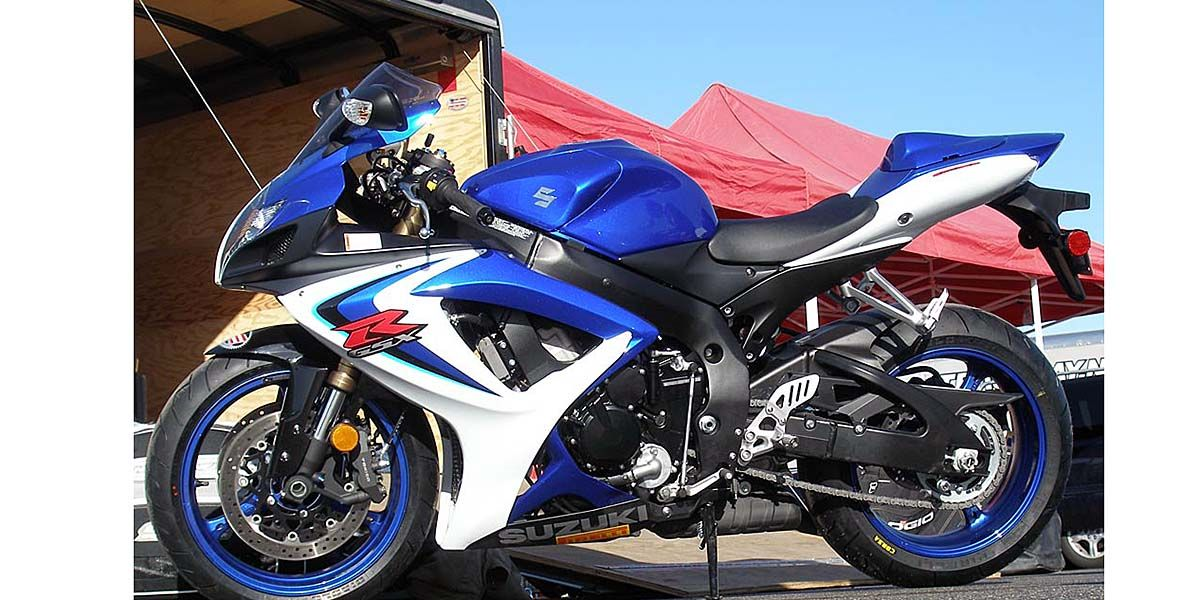 2006 Suzuki GSX-R600 Comparison