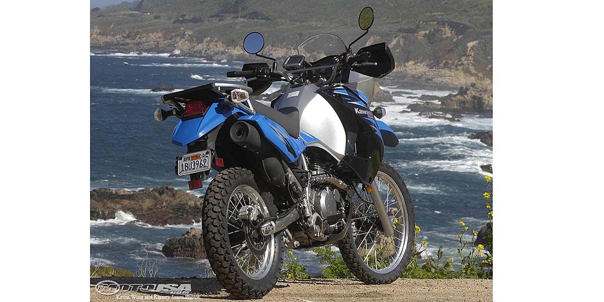 2008 Kawasaki KLR650 Review on Countersteer
