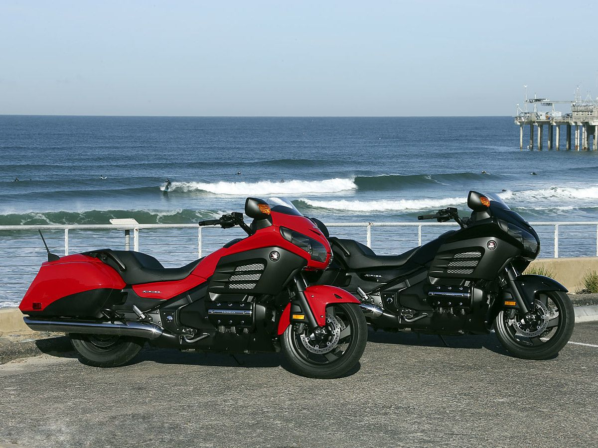 2013 Honda Gold Wing F6B First Ride
