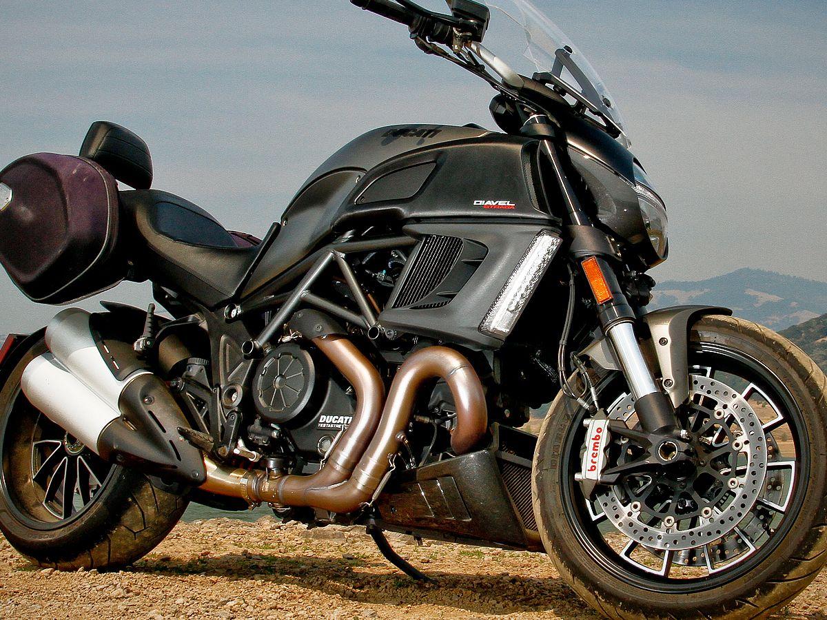 2013 Ducati Diavel Strada Comparison Review