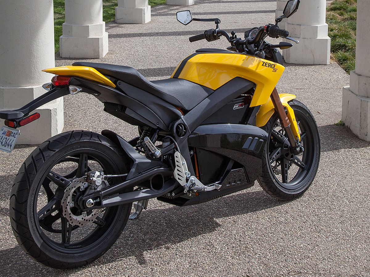 2013 Zero S Motorcycle Review