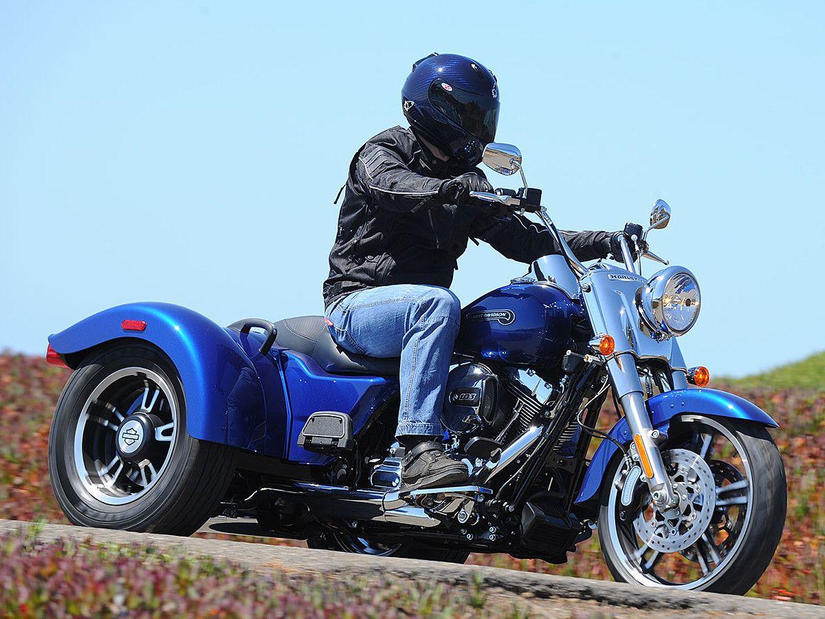 Review: 2015 Harley-Davidson Freewheeler Trike Motorcycle on