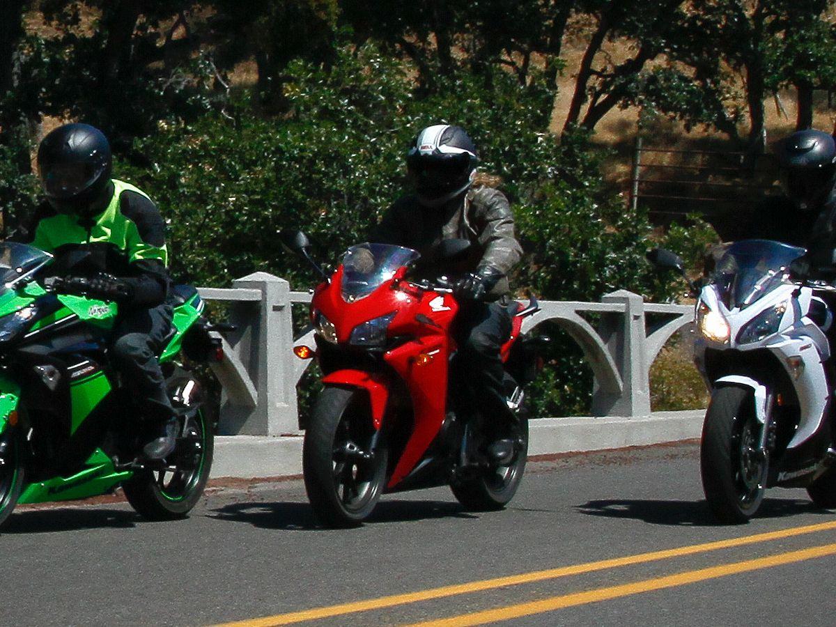 2013 Honda CBR500R vs Ninja 300 & 650