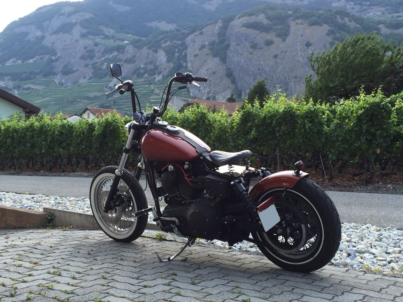 Harley Davidson Offers Dyna Bobber Kit On Countersteer