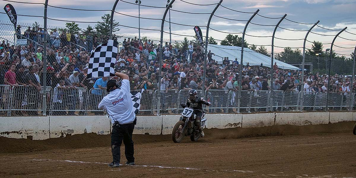 Bronson Bauman Interview - 1st AFT Twins Win at Laconia Short Track