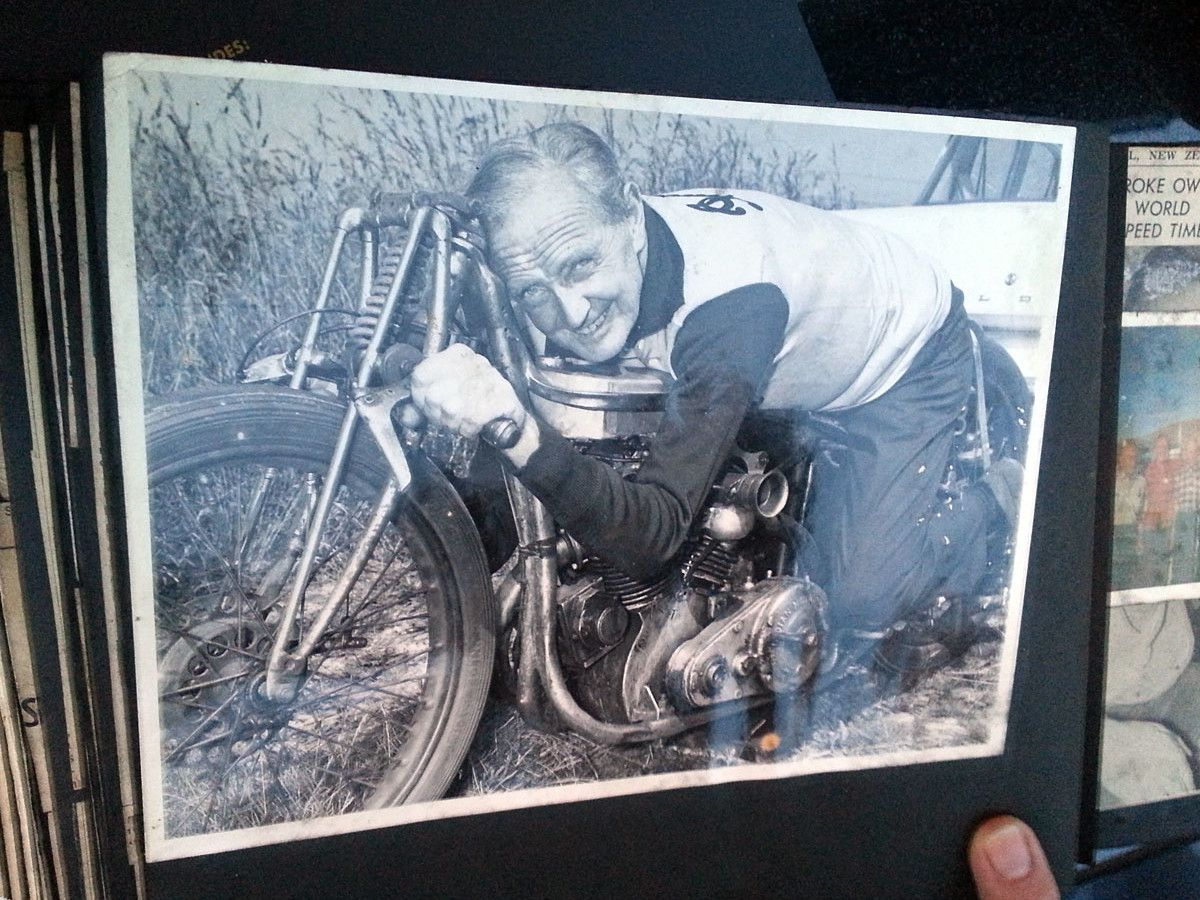 Burt Munro Breaks Record 36 Years After Death