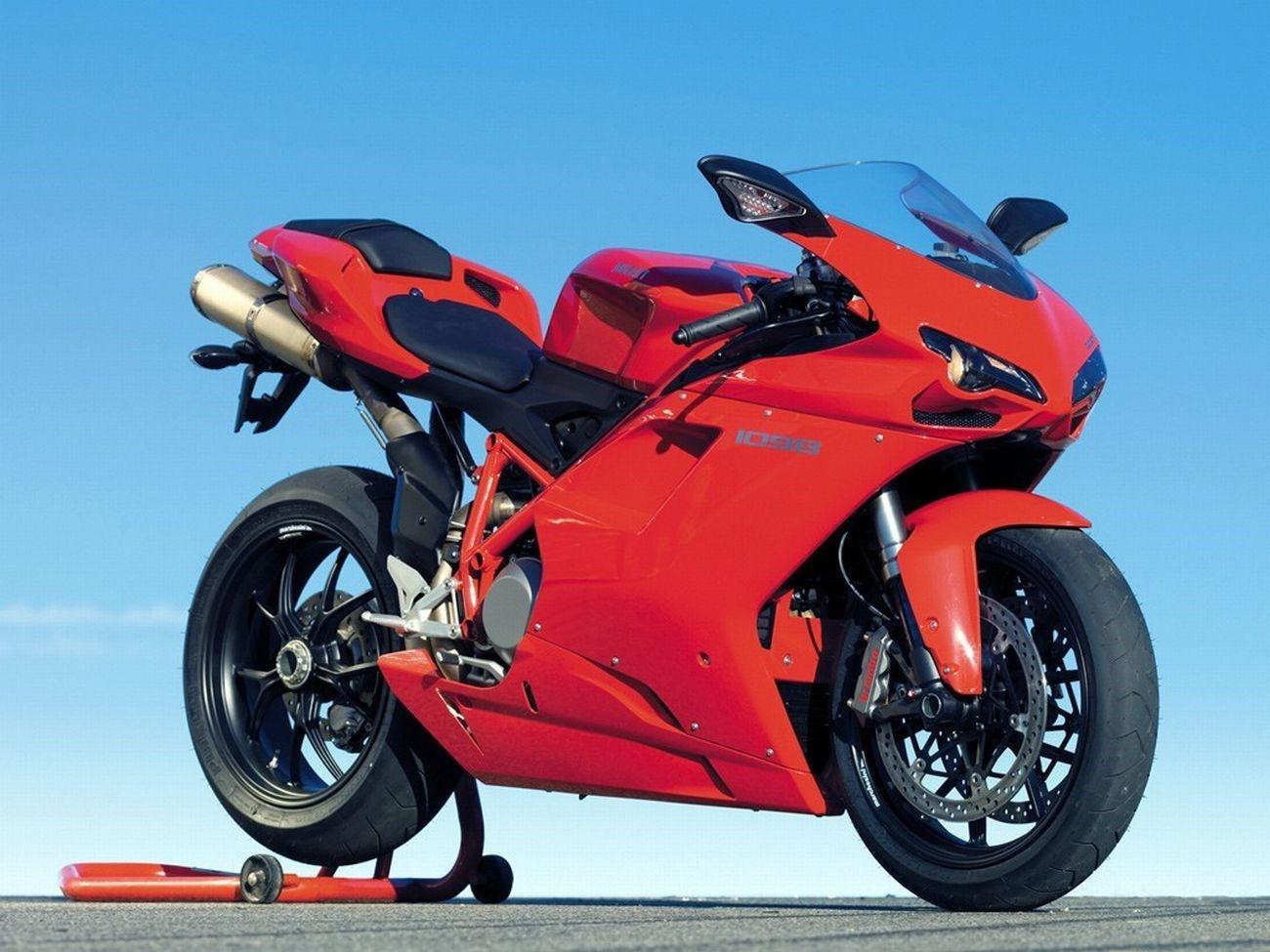 2008 Ducati 1098 Comparison