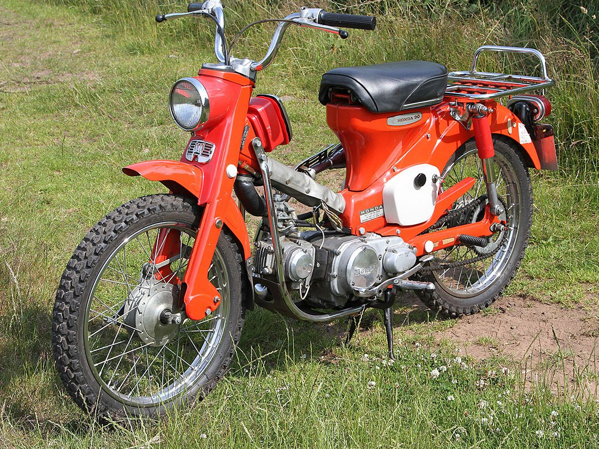 Retro Ride: Honda CT90 on Countersteer on