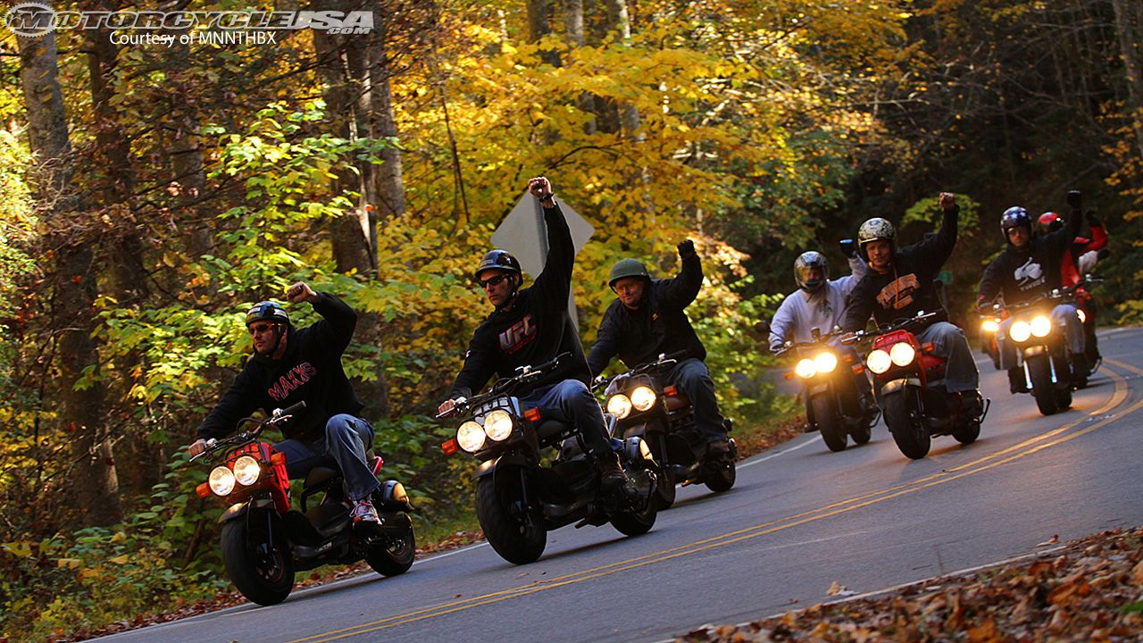 Greg Hatcher, MNNTHBX and the Honda Ruckus