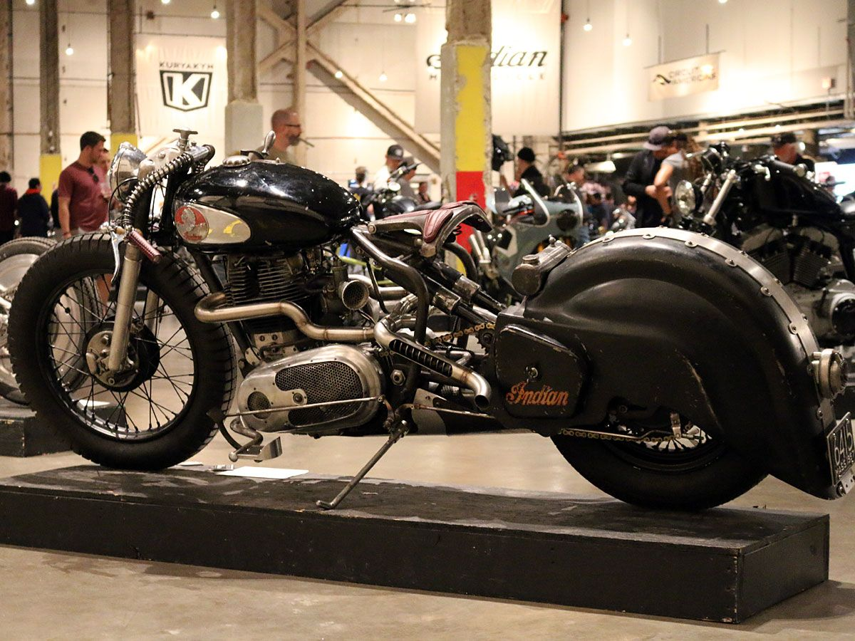Foot Throttle Madness - Madhouse Motors 1957 Royal Enfield Indian