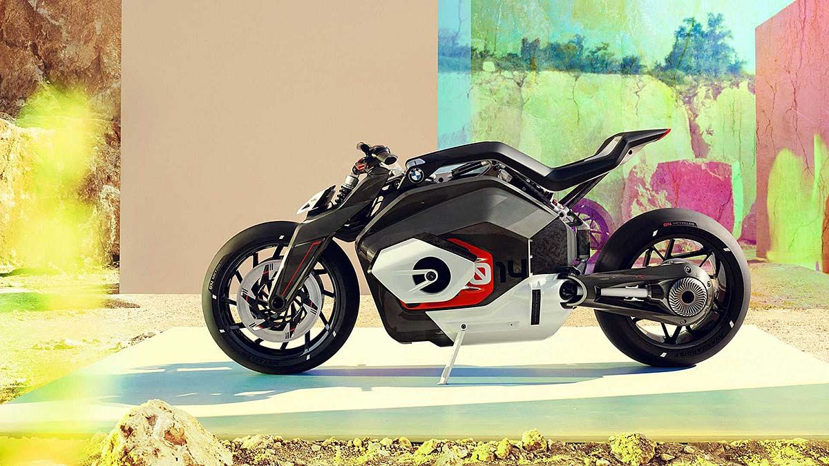 BMW Unveils Vision DC Roadster Electric Boxer Motorcycle