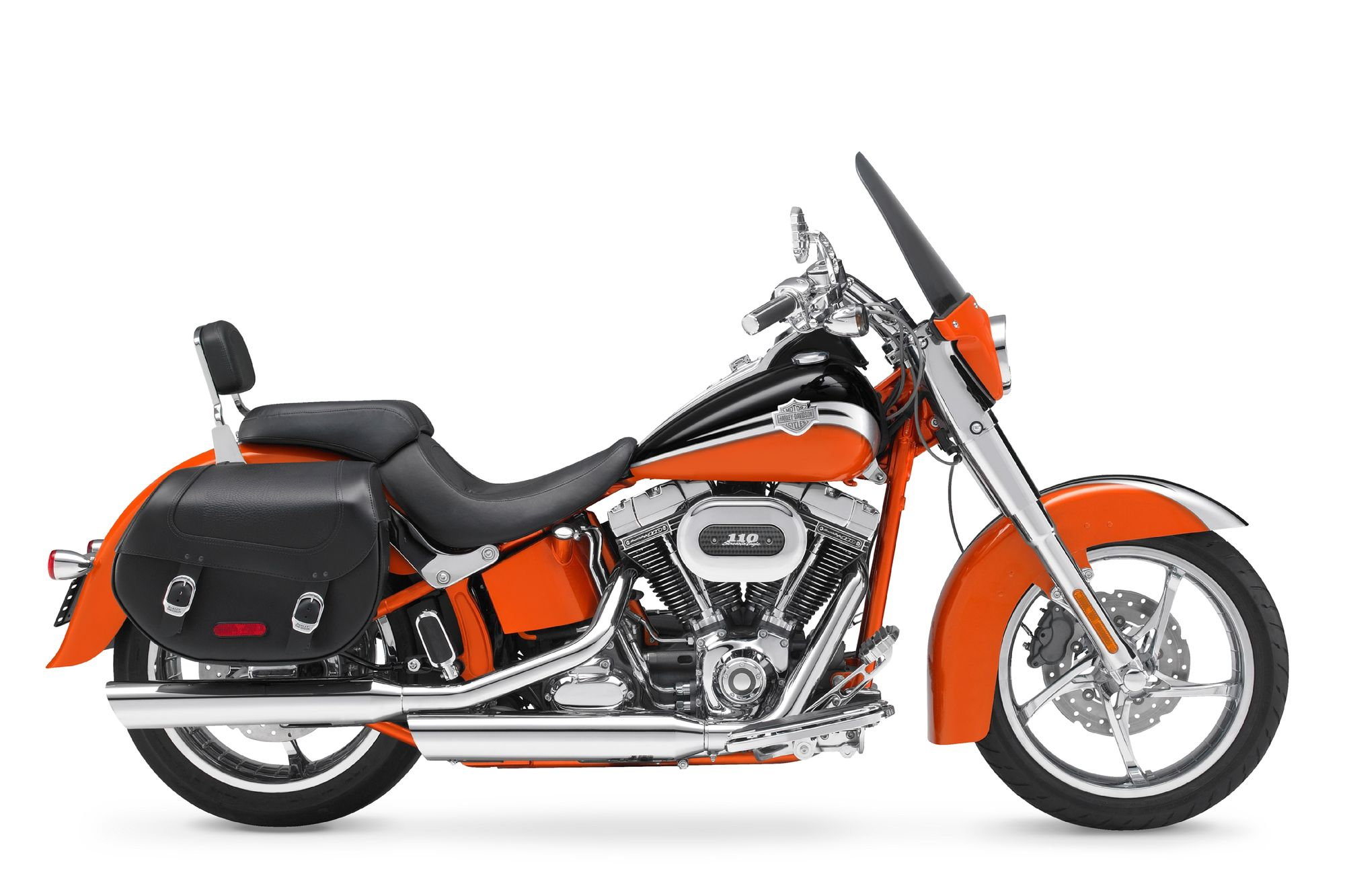 2010 CVO Softail Convertible First Ride