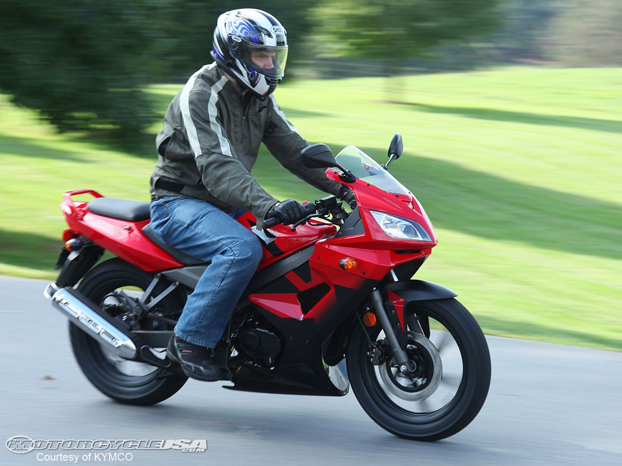 2010 KYMCO Quannon 150 First Ride