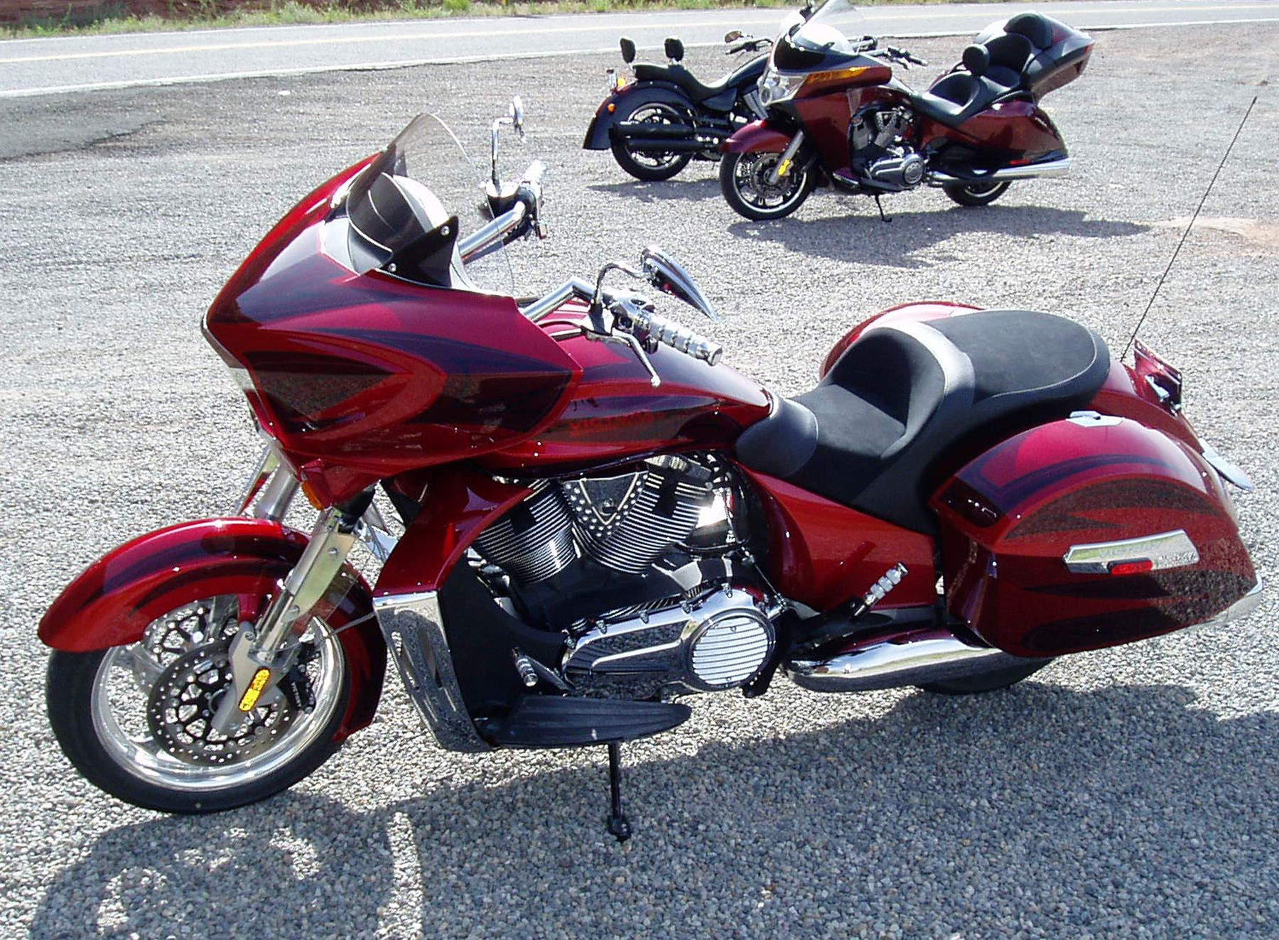 2010 Victory Cross Country Comparison Review