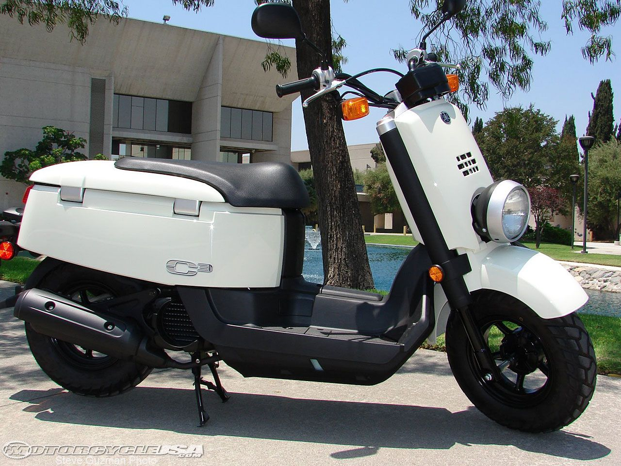 2008 Yamaha C3 Scooter Review