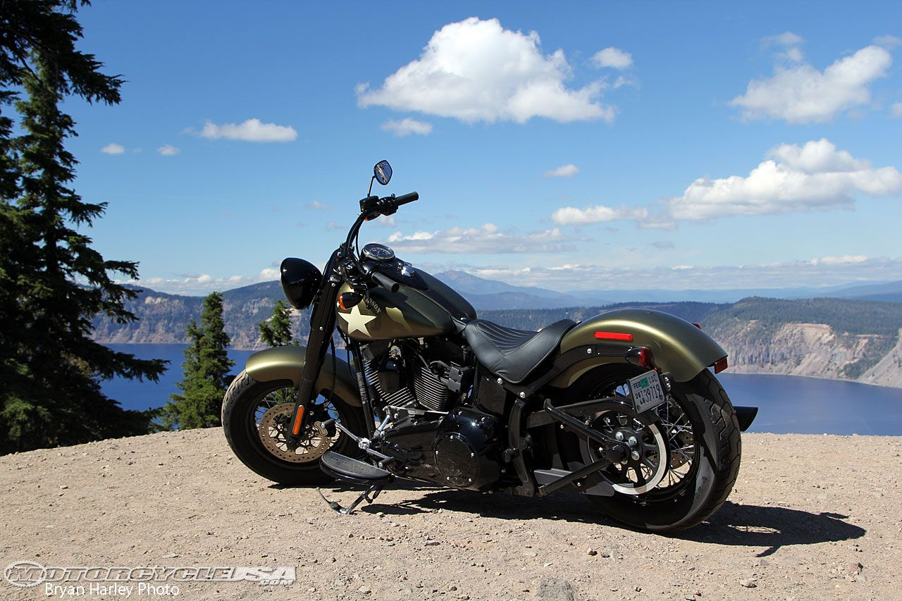 Review: 2016 Harley-Davidson Softail Slim S Motorcycle on Countersteer