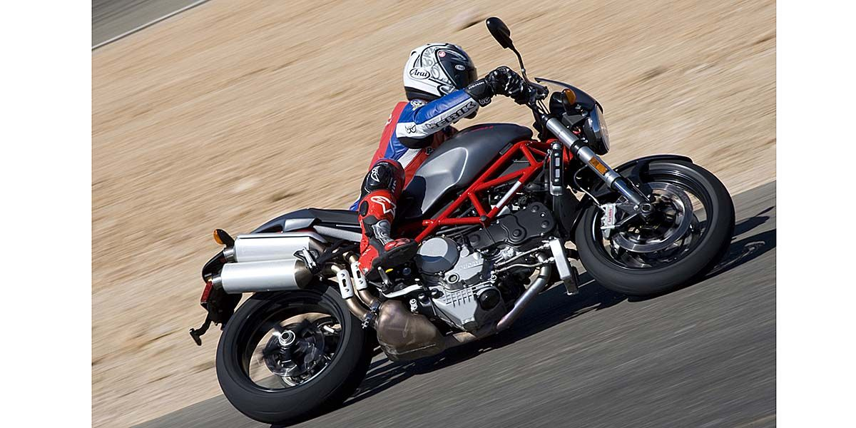 2007 Ducati Monster S4RS Comparison
