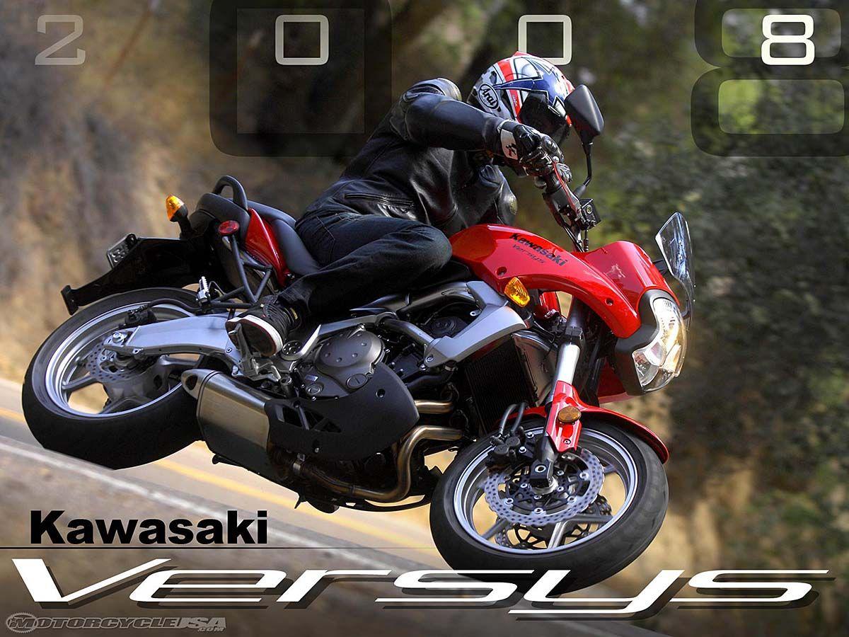 2008 Kawasaki Versys First Ride