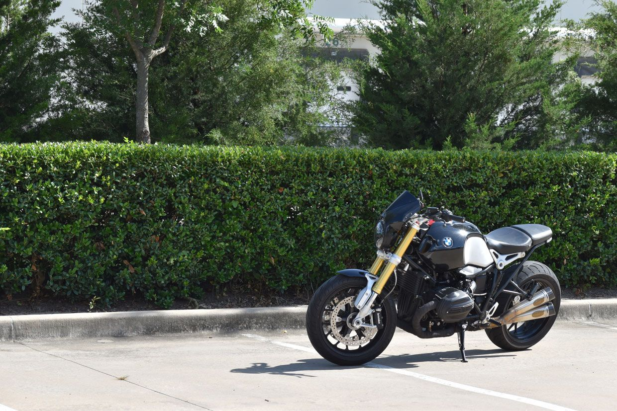 J&P Cycles' Custom BMW RNINET Project on Countersteer
