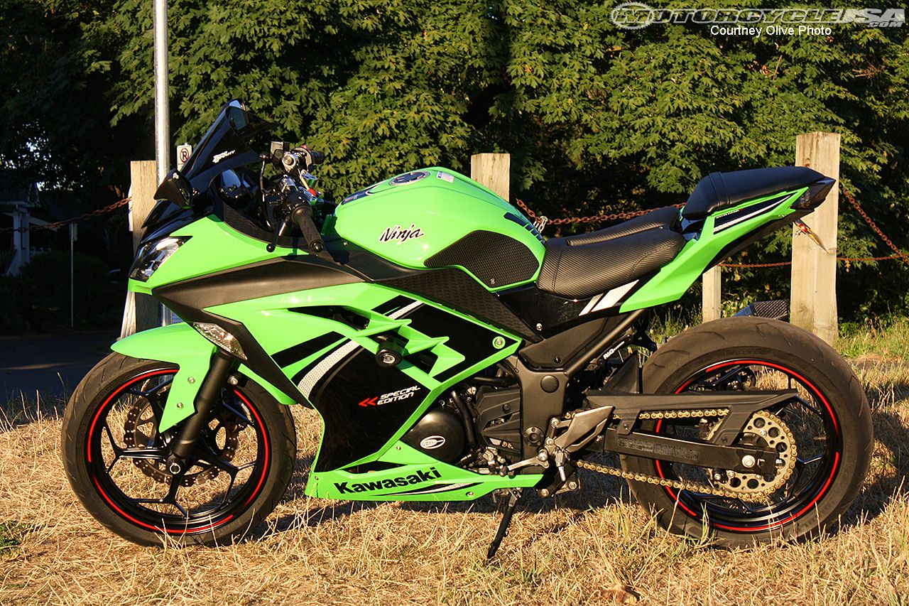 Downhill Pinned: Kawasaki Ninja 300 Project Part II