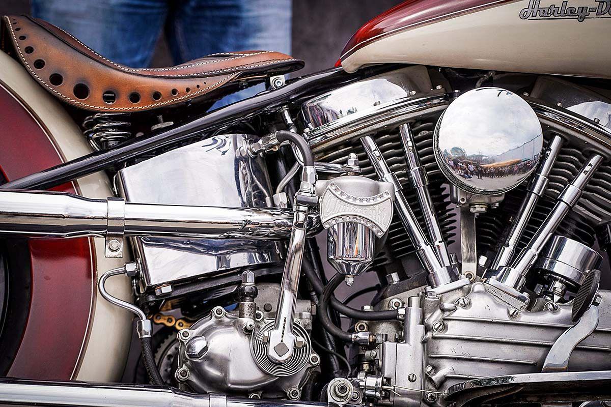 Thunderbike Builds One Bad 1956 Harley FL Bobber on Countersteer