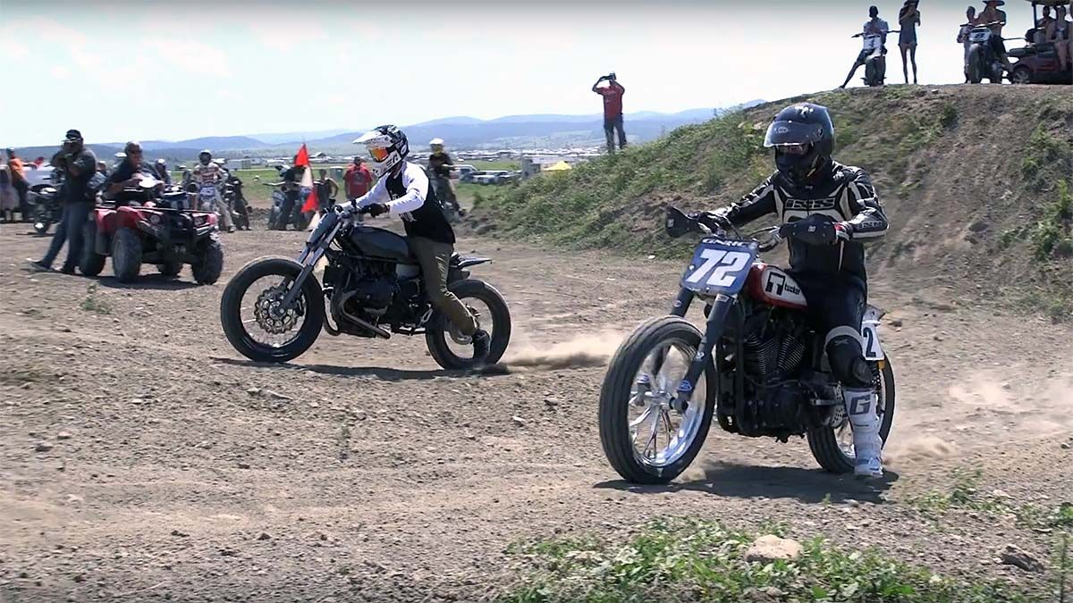 Hooligan Hill Climbs with J&P Cycles at Camp Zero Sturgis