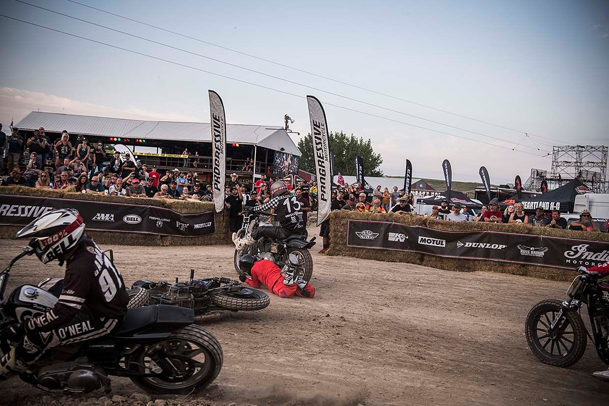 Carnage and Chaos in Sturgis at Round 7 of RSD Super Hooligan National Championship