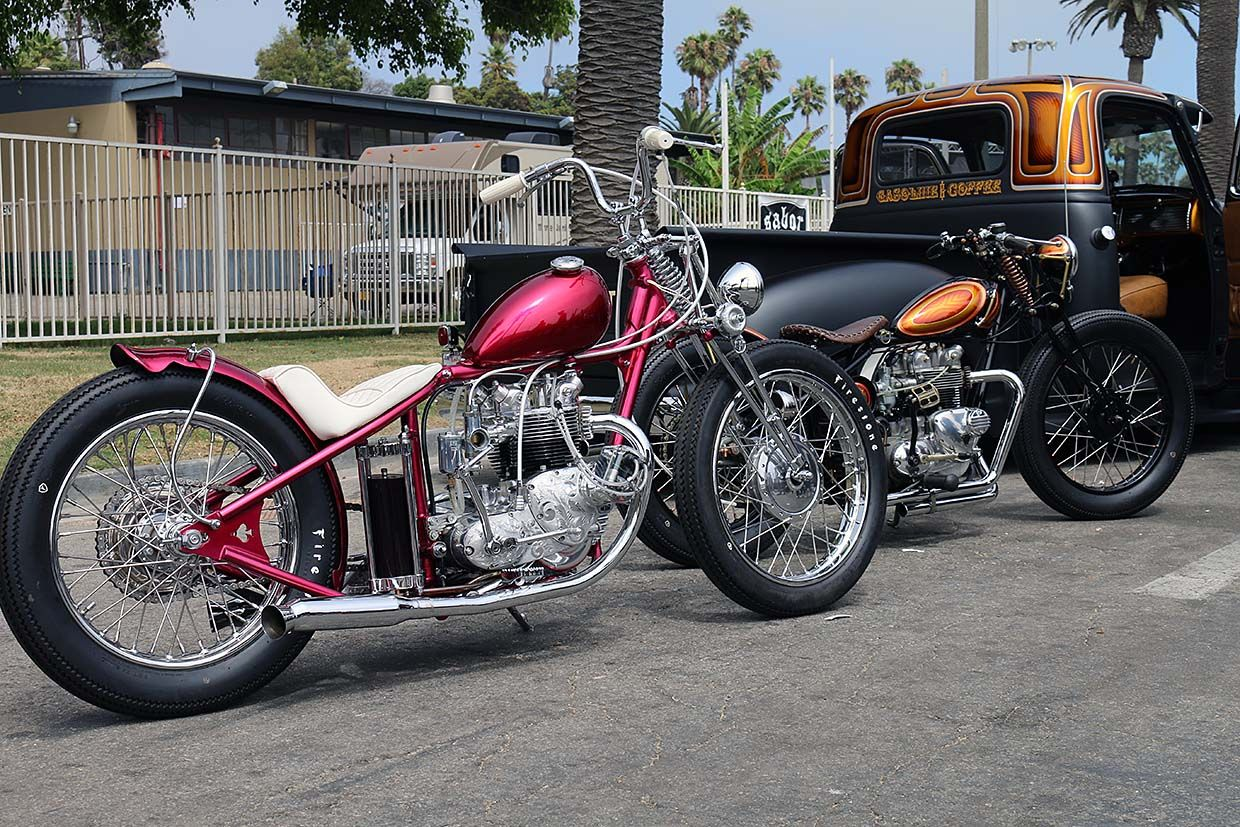 Motorcycle and Hot Rod Cultures Combine at 17th Ventura Nationals