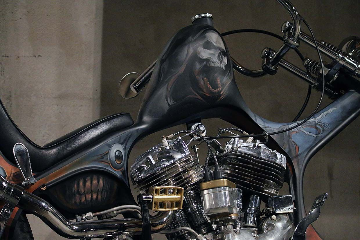 Scariest Motorcycles of Halloween
