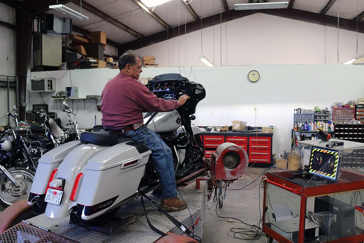 Harley Milwaukee-Eight 117 Horsepower and Torque Dyno Results