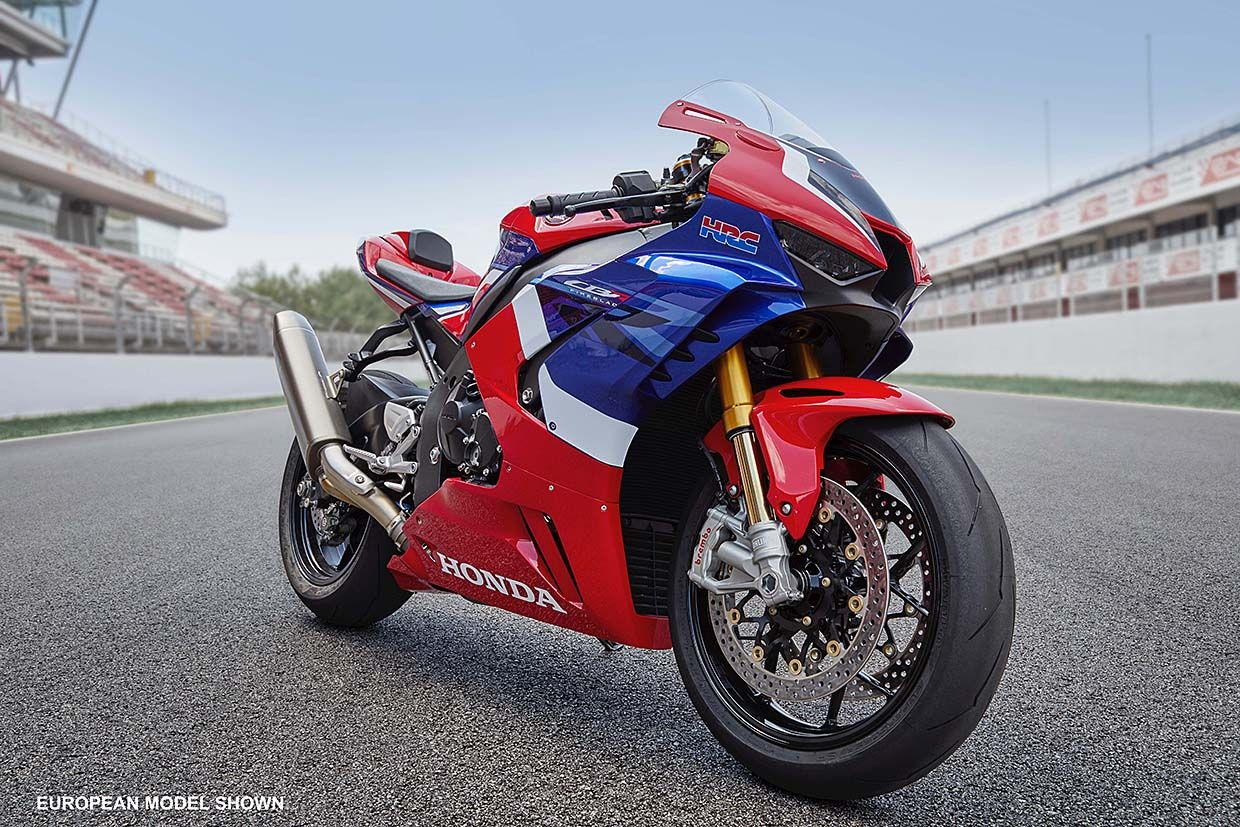 Honda Unveils Most Powerful Production CBR Yet - 2021 Honda CBR1000RR-R Fireblade SP