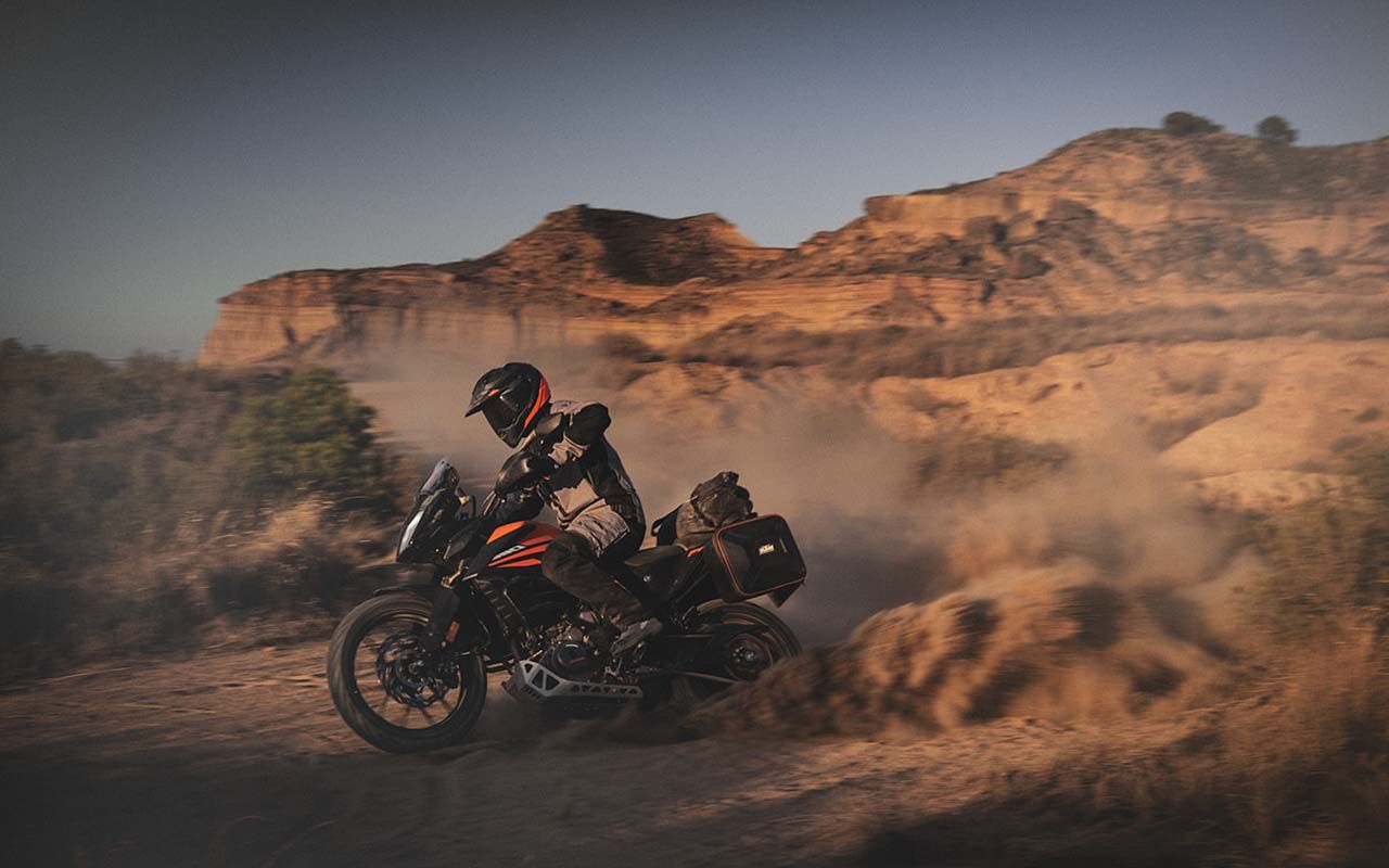 KTM Adds Little ADV to 2020 Line with 2020 KTM 390 Adventure